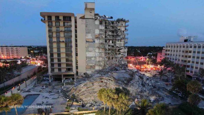 Miami Condo building collapse: 1 Dead, 99 Missing, Search and Rescue Underway