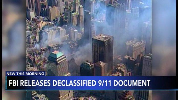FBI September 11 document Video: FBI releases declassified document in 9/11 investigation