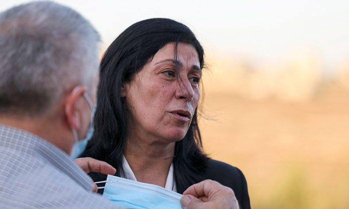 Palestinian lawmaker Khalida Jarrar released from Israeli prison